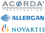 Accorda, Alergan, Novartis